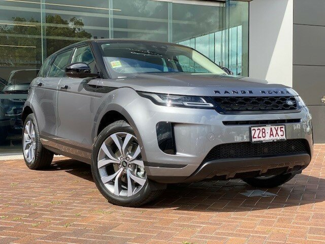 Demo Land Rover Range Rover Evoque L551 MY20.5 P200 SE Toowoomba, 2020 Land Rover Range Rover Evoque L551 MY20.5 P200 SE Grey 9 Speed Sports Automatic Wagon