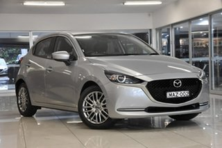 2020 Mazda 2 DJ2HAA G15 SKYACTIV-Drive Evolve Silver 6 Speed Sports Automatic Hatchback.