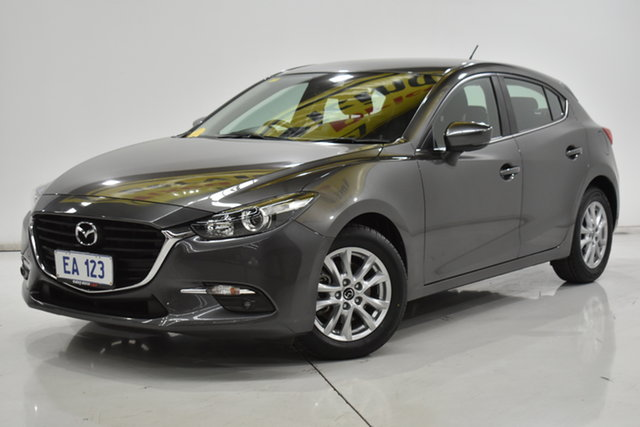 Used Mazda 3 BN5476 Maxx SKYACTIV-MT Brooklyn, 2017 Mazda 3 BN5476 Maxx SKYACTIV-MT Grey 6 Speed Manual Hatchback