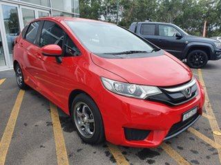 2015 Honda Jazz GF MY15 VTi Red 1 Speed Constant Variable Hatchback.