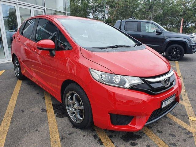 Used Honda Jazz GF MY15 VTi Epsom, 2015 Honda Jazz GF MY15 VTi Red 1 Speed Constant Variable Hatchback