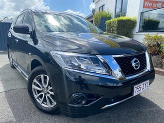 2015 Nissan Pathfinder R52 MY15 ST X-tronic 4WD Black 1 Speed Constant Variable Wagon.