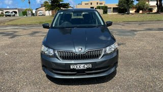 2016 Skoda Fabia NJ MY17 81TSI DSG Grey 7 Speed Sports Automatic Dual Clutch Hatchback.