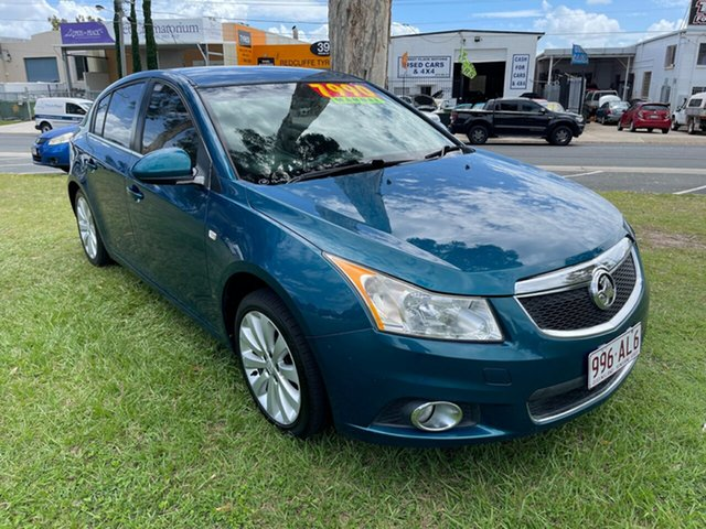 Used Holden Cruze JH Series II MY12 CDX Clontarf, 2012 Holden Cruze JH Series II MY12 CDX Blue 5 Speed Manual Hatchback