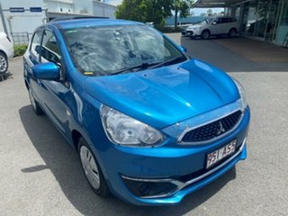 2017 Mitsubishi Mirage LA MY17 ES 1 Speed Constant Variable Hatchback.