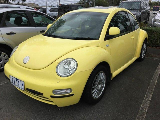 Used Volkswagen Beetle 9C 2 Traralgon, 2000 Volkswagen Beetle 9C 2.0 Yellow 4 Speed Automatic Hatchback