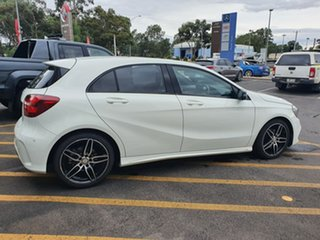2016 Mercedes-Benz A-Class W176 806MY A200 D-CT White 7 Speed Sports Automatic Dual Clutch Hatchback