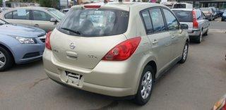2007 Nissan Tiida C11 MY07 ST-L Gold 4 Speed Automatic Hatchback