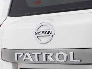 2015 Nissan Patrol GU Series 9 ST (4x4) White 5 Speed Manual Wagon