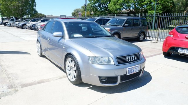 Used Audi A4 B6 Multitronic St James, 2004 Audi A4 B6 Multitronic Silver 1 Speed Constant Variable Sedan