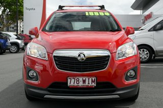 2016 Holden Trax TJ MY16 LTZ Red 6 Speed Automatic Wagon