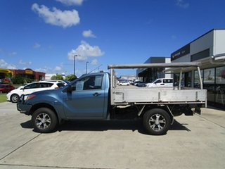 2015 Mazda BT-50 UR0YF1 XT Blue 6 Speed Manual Cab Chassis.