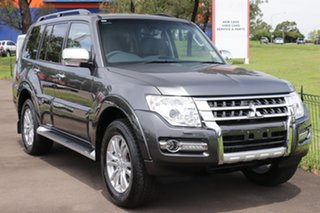 2020 Mitsubishi Pajero NX MY21 GLS White 5 Speed Sports Automatic Wagon.