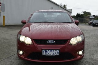 2011 Ford Falcon FG XR6 Maroon 6 Speed Sports Automatic Sedan.