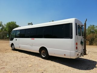 2004 Mitsubishi Fuso Rosa BE649 Base White Bus.