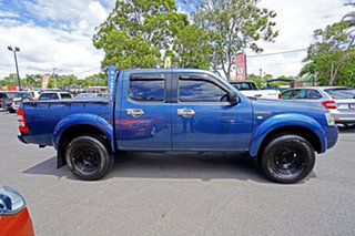 2007 Ford Ranger PJ XL Crew Cab 4x2 Hi-Rider Andaman Blue 5 Speed Manual Utility