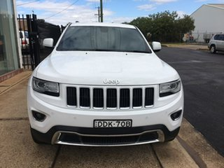 2015 Jeep Grand Cherokee WK Limited White Sports Automatic.