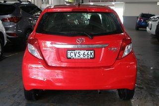 2014 Toyota Yaris NCP130R YR Cherry 5 Speed Manual Hatchback