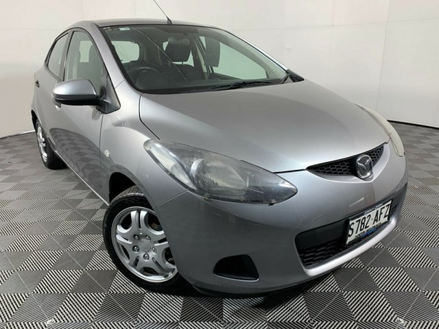 Used Mazda 2 DE10Y1 Neo Wayville, 2010 Mazda 2 DE10Y1 Neo Grey 5 Speed Manual Hatchback