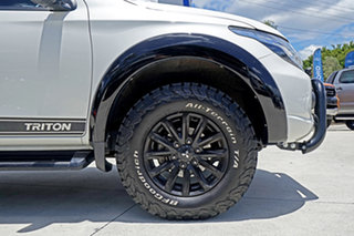 2018 Mitsubishi Triton MQ MY18 GLS Double Cab White 5 Speed Sports Automatic Utility
