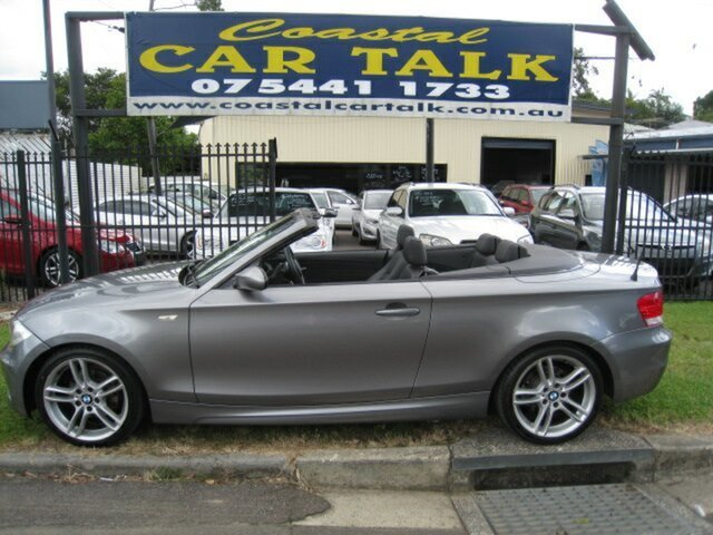 Used BMW 125i E88 MY09 Nambour, 2009 BMW 125i E88 MY09 Grey 6 Speed Automatic Convertible