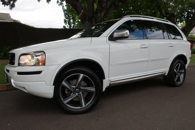 Used Volvo XC90 P28 MY13 R-Design Geartronic Prospect, 2013 Volvo XC90 P28 MY13 R-Design Geartronic White 6 Speed Sports Automatic Wagon