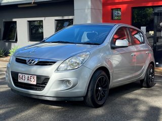 2012 Hyundai i20 PB MY12 Active Metallic Silver 4 Speed Automatic Hatchback