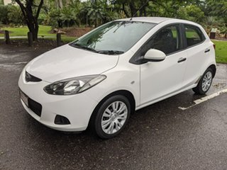 2009 Mazda 2 DE10Y1 Neo White 4 Speed Automatic Hatchback