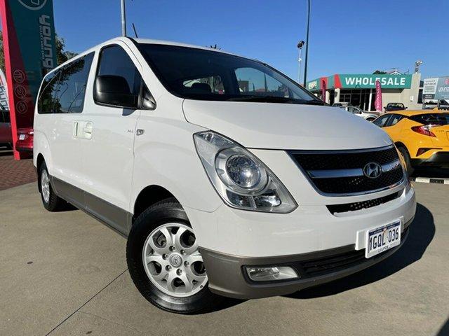 Used Hyundai iMAX TQ MY13 Victoria Park, 2012 Hyundai iMAX TQ MY13 White 4 Speed Automatic Wagon