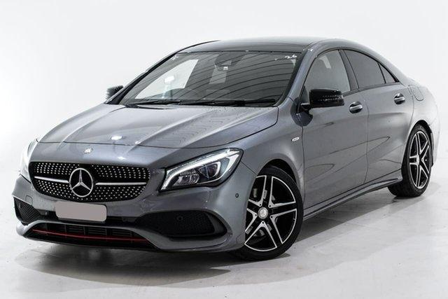 Used Mercedes-Benz CLA-Class C117 807MY CLA250 DCT 4MATIC Sport Berwick, 2016 Mercedes-Benz CLA-Class C117 807MY CLA250 DCT 4MATIC Sport Grey 7 Speed