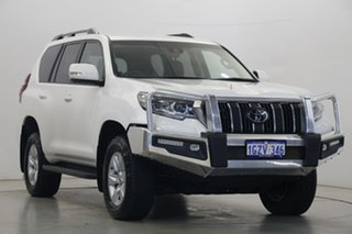 2020 Toyota Landcruiser Prado GDJ150R GXL White 6 Speed Sports Automatic Wagon