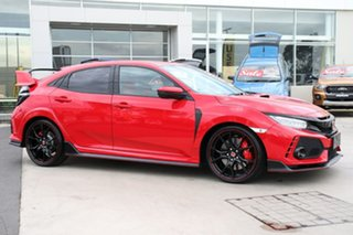 2017 Honda Civic 10th Gen MY17 Type R Rally Red 6 Speed Manual Hatchback.