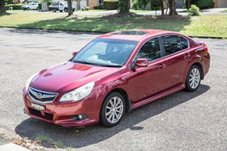 2010 Subaru Liberty B5 MY10 2.5i Lineartronic AWD Premium Red 6 Speed Constant Variable Sedan.