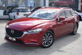 2018 Mazda 6 GL1031 Touring SKYACTIV-Drive Red 6 Speed Sports Automatic Wagon.