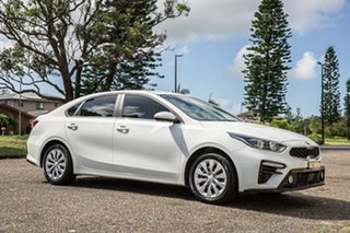 2018 Kia Cerato YD MY18 S Clear White 6 Speed Sports Automatic Sedan.