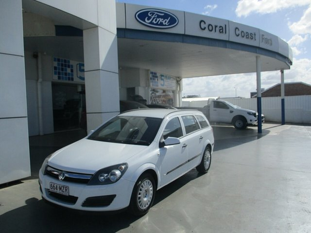 Used Holden Astra AH MY07 CD Bundaberg, 2006 Holden Astra AH MY07 CD White 4 Speed Automatic Wagon