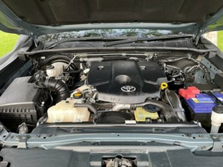 2016 Toyota Hilux GUN126R SR Grey 6 Speed Manual Cab Chassis