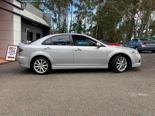 2007 Mazda 6 GG1032 Luxury Metallic Silver 5 Speed Sports Automatic Hatchback.