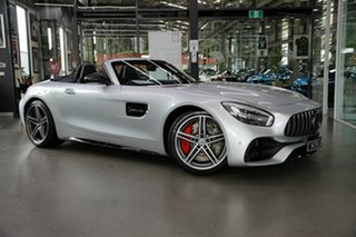 2018 Mercedes-Benz AMG GT R190 809MY C SPEEDSHIFT DCT Silver 7 Speed Sports Automatic Dual Clutch.