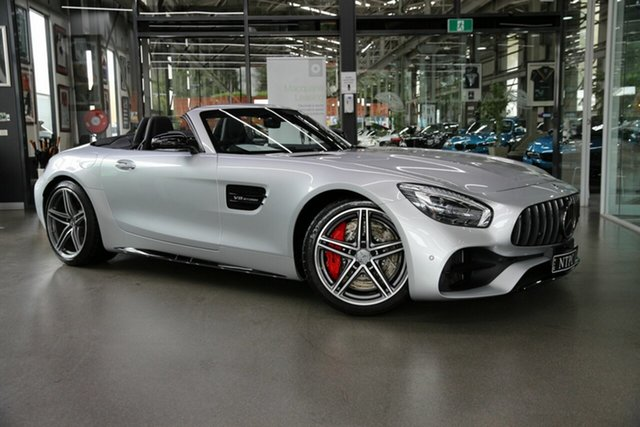 Used Mercedes-Benz AMG GT R190 809MY C SPEEDSHIFT DCT North Melbourne, 2018 Mercedes-Benz AMG GT R190 809MY C SPEEDSHIFT DCT Silver 7 Speed Sports Automatic Dual Clutch