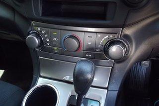 2012 Toyota Kluger GSU40R MY12 KX-R 2WD Red 5 Speed Sports Automatic Wagon