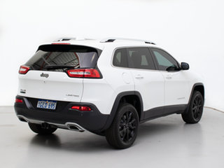 2015 Jeep Cherokee KL MY16 Limited (4x4) White 9 Speed Automatic Wagon