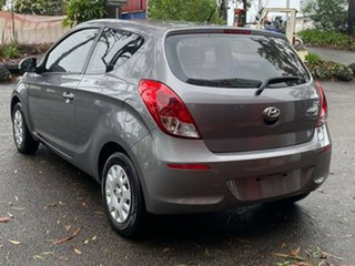 2013 Hyundai i20 PB MY13 Active Metallic Grey 4 Speed Automatic Hatchback.