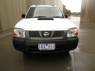 2013 Nissan Navara D22 S5 DX 4x2 Solid White 5 Speed Manual Cab Chassis