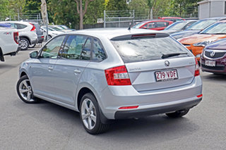 2014 Skoda Rapid NH MY14 Ambition Spaceback DSG Silver 7 Speed Sports Automatic Dual Clutch.