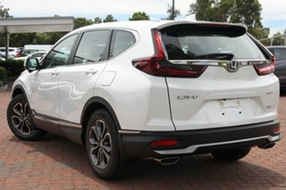 2020 Honda CR-V RW MY21 VTi 4WD L AWD Platinum White 1 Speed Constant Variable Wagon