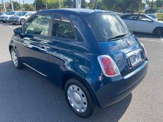 2013 Fiat 500 Series 1 Pop Dualogic Blue 5 Speed Sports Automatic Single Clutch Hatchback