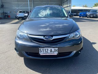 2010 Subaru Impreza G3 MY11 R AWD Grey 5 Speed Manual Hatchback.