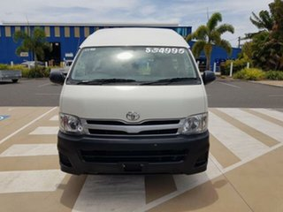 2012 Toyota HiAce KDH223R MY11 Upgrade Commuter French Vanilla 4 Speed Automatic Bus