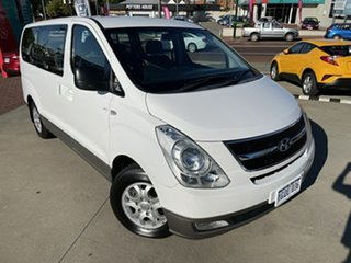 2012 Hyundai iMAX TQ MY13 White 4 Speed Automatic Wagon.
